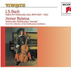 Bach - The Cello Suites, Vol. 2, Nos. 4, 5 & 6 (No. 2) - Anner Bylsma