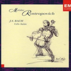 J.S.Bach - Cello Suites CD 2 (No. 2) - Mstislav  Rostropovich