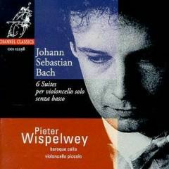Bach - 6 Suites Per Violoncello Solo Senza Basso CD 2 - Peter Wispelwey