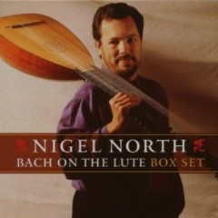 Bach On The Lute Vol 3 - Nigel Nort