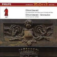 Mozart Complete Edition Box 3 - Divertimenti & Serenades CD 11 (No. 1)