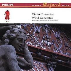 Mozart Complete Edition Box 5 - Violin Concertos, Wind Concertos CD 1