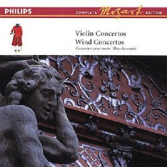 Mozart Complete Edition Box 5 - Violin Concertos, Wind Concertos CD 7