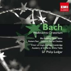 Bach - Weihnachts-Oratorium CD 1 (No. 3) - Philip Ledger