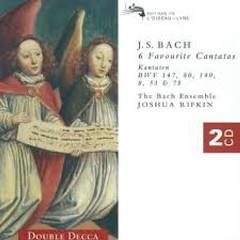 Bach - 6 Favourite Cantatas CD 1 (No. 1) - Joshua Rifkin,The Bach Ensemble