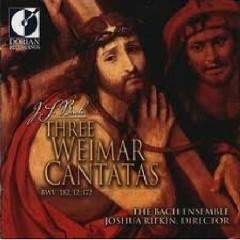 Three Weimar Cantatas (No. 2) - Joshua Rifkin,The Bach Ensemble