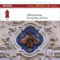 Mozart Complete Edition Box 8 - Violin Sonatas, String Duos & Trios CD 4