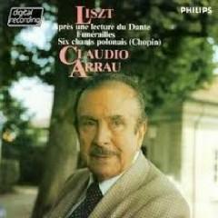 Liszt - 6 Chants polonais - Funerailles - Claudio Arrau
