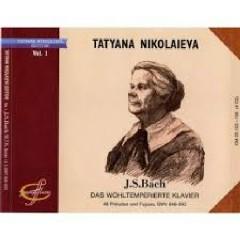 Bach - Das Wohltemperierte Klavier CD 3 - Tatiana Nikolayeva