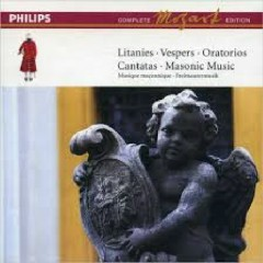 Mozart Complete Edition Box 11 - Litanies; Vespers; Oratorios; Cantatas; Masonic Music CD 3
