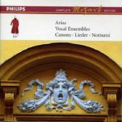 Mozart Complete Edition Box 12 - Arias; Vocal Ensembles; Canons; Lieder; Notturni CD 7