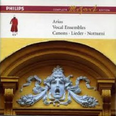 Mozart Complete Edition Box 12 - Arias; Vocal Ensembles; Canons; Lieder; Notturni CD 8 (No. 1)