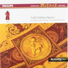 Mozart Complete Edition Box 13 - Early Italian Operas CD 1 (No. 1)