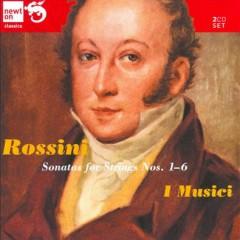 Rossini - Sonatas For Strings Nos. 1 - 6 CD 1 - I Musici