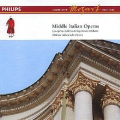 Mozart Complete Edition Box 14 - Middle Italian Operas CD 8 (No. 1)