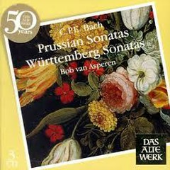 C.P.E. Bach - Prussian Sonatas; Württemberg Sonatas CD 1 (No. 1) - Bob van Asperen