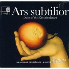 Harmonia Mundi's Century Collection - A History Of Music CD 7 - Ars Subtilior