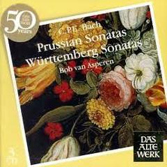 C.P.E. Bach - Prussian Sonatas; Württemberg Sonatas CD 1 (No. 2)   - Bob van Asperen