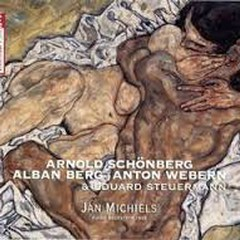 Arnold Schönberg,  Alban Berg, Anton Webern & Eduard Steuermann CD 2 (No. 1)  - Jan Michiels