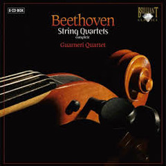 Beethoven String Quartets CD 6  - Guarneri Quartet