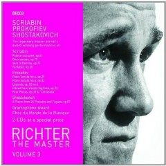 Richter The Master, Vol. 3 - Scriabin, Prokofiev, Shostakovich Disc 2 (No. 2)