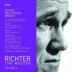 Richter The Master, Vol. 6 - Haydn, Beethoven, Weber Disc 1
