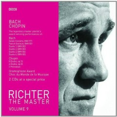 Richter The Master, Vol. 9 - Bach & Chopin Disc 1