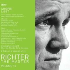 Richter The Master, Vol. 10 - Chopin & Liszt Recital Disc 1