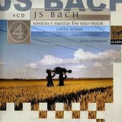 Bach - Cello Suites, Sonatas & Partitas For Solo Violin CD 4 (No. 1) - Christian Tetzlaff,Ralph Kirshbaum