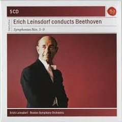 Erich Leinsdorf Conducts Beethoven Symphonies CD 1