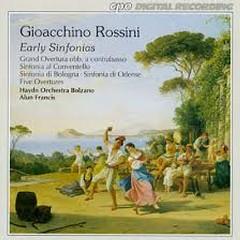 Gioacchino Rossini - Early Sinfonias - Alun Francis,Haydn Orchestra Bolzano