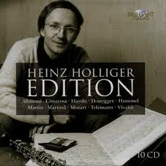 Heinz Holliger Edition CD 5 (No. 2) - Heinz Hollinger