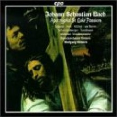 Bach - Apocryphal St. Luke Passion CD 1 (No. 4) - Wolfgang Helbich,Various Artists