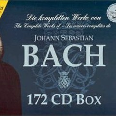 Complete Works Of Bach Hanssler Edition Bachakademie Vol 34 CD 4 (No. 1)