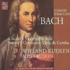 Bach - 6 Suites à Violoncello Solo; Sonate à Cembalo è Viola Da Gamba CD 2 - Piet Kuijken,Wieland Kuijken