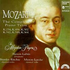 Mozart - The Complete Piano Trios CD 1 - The Mozartean Players
