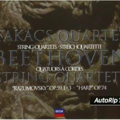 Beethoven - String Quartets Vol 2 CD 1 - Takács Quartet
