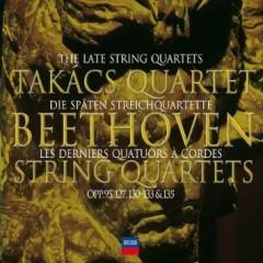 Beethoven - String Quartets Vol 3 CD 1 - Takács Quartet