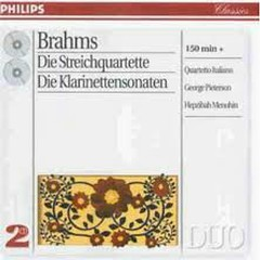 Brahms - The Complete String Quartets; Clarinet Sonatas CD 2