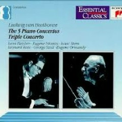 Beethoven - The 5 Piano Concertos; Triple Concerto CD 1  - Leon Fleisher,George Szell,Eugene Ormandy