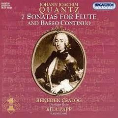 Johann Joachim Quantz - 7 Sonatas For Flute & Basso Continuo (No. 2) - Benedek Csalog