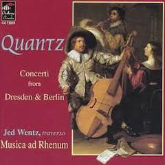 Quantz - Concerti From Dresden & Berlin - Jed Wentz,Musica Ad Rhenum