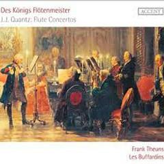 Des Königs Flötenmeister - J.J. Quantz Flute Concertos
