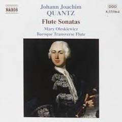 Johann Quantz - Flute Sonatas (No. 2) - Mary Oleskiewicz,Stephanie Vial