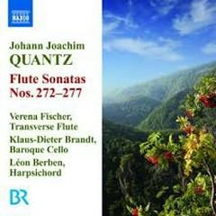 Quantz - Flute Sonatas Nos. 272 - 277