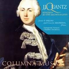 Quantz - Konzerte Fur Eine Und Zwei Flote