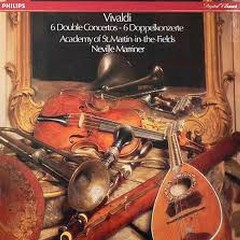 Vivaldi - 6 Double Concertos - Sir Neville Marriner,Academy Of St Martin InThe Fields