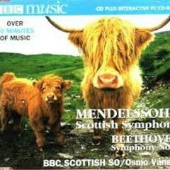 Mendelssohn - Scottish Symphony; Beethoven - Symphony No.1