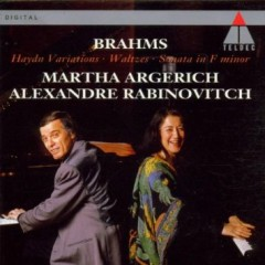 Brahms - Haydn Variations; Waltzes; Sonata For Two Pianos In F minor (No. 2)