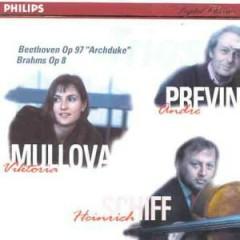 Brahms - Piano Trio No. 1, Op. 8; Beethoven - Piano Trio No. 7; Archduke, Op. 97 - Andre Previn,Viktoria Mullova
